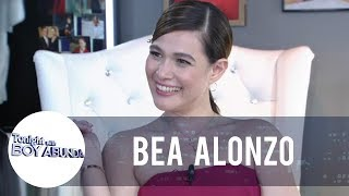 Bea shares that Jericho Rosales is the reason why she wanted to be a celebrity | TWBA