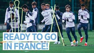 GETTING READY FOR MARSEILLE | TRAINING