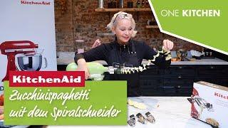 KitchenAid Spiralschneider 5KSM1APC – dafür wird er verwendet | by One Kitchen