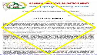 Today 07 January 2018  #English News Translation in Rohingya Language Rohingya Times914 Daily News