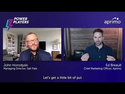 The Oracle's Power Play | John Horodyski – Aprimo Power Player