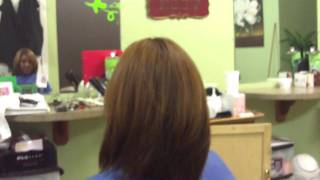 Brazilian Keratin Treatment on Color Treated Hair pt 7