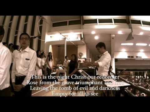 Christ Be Our Light (Easter lyrics ) El Shaddai OLPS