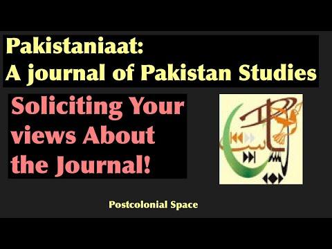 About Pakistaniaat: A Journal of Pakistan Studies