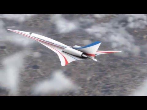La NASA construirá un jet de pasajeros supersónico silencioso