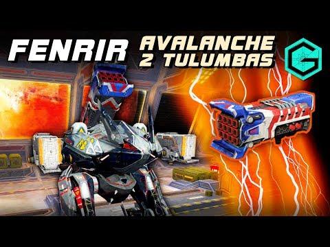 War Robots Fenrir Avalanche 2 Tulumbas MK2 Тяжелая Поддержка