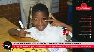 ISJA | WEB-TV | Le Journal #04 | sept-déc 2019 | Part 5 | Visite de Mme Humruzian