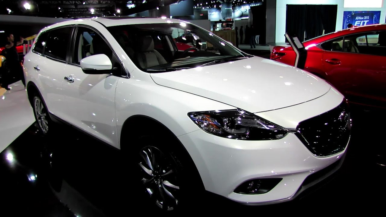 2014 Mazda CX 9 Grand Touring AWD   Exterior And Interior Walkaround   2014  New York Auto Show   YouTube
