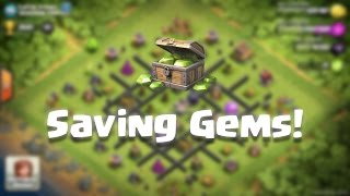 Best way of Collecting Gems in Clash of Clans | Get 5 Builders Easily!