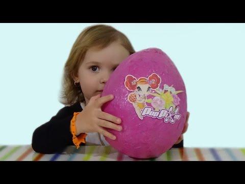 Волшебные ПопПикси огромное яйцо с сюрпризом обзор игрушек