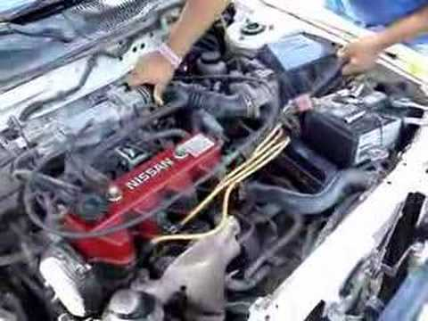 Nissan Tsuru Motor 16v Youtube