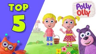 Jack and Jill | Top 5 Most Popular Nursery Rhymes on YouTube