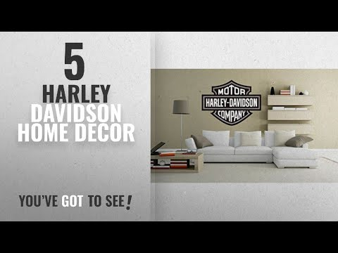 Top 10 Harley Davidson Home Decor [2018 ]: HARLEY DAVIDSON SHIELD GREY MOTORBIKE CHOPER BADGE WALL