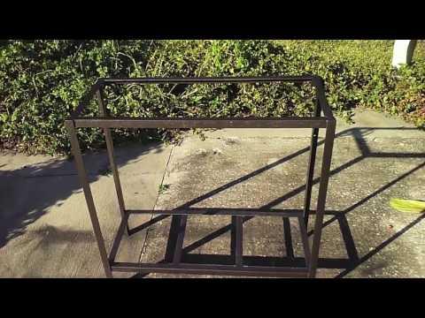 Refinishing Wrought Iron Stand