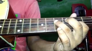 Airtel tune guitar tab/lead lesson very easy for beginners in Hindi.