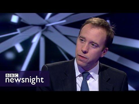 Matt Hancock on elections: London is different to rest of UK - BBC Newsnight