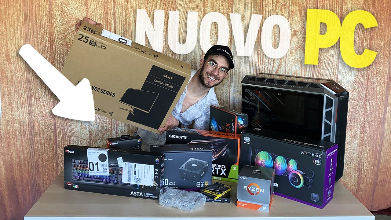 TUTTO IL MIO NUOVO PC DA GAMING/STREAMING