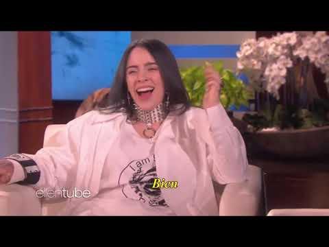 """Billie Eilish recibe un susto de """"Justin Bieber"""" Clip subtitulado al español"""
