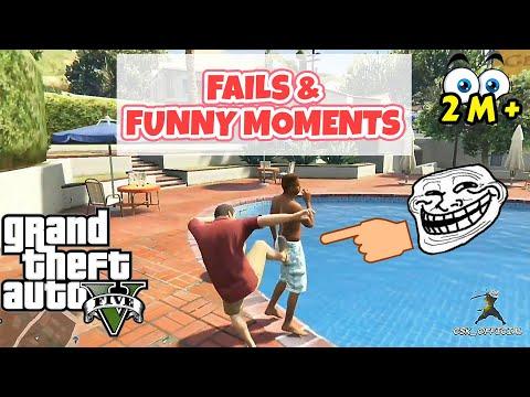 GTA 5 Fails & Funny Moments   CSK OFFICIAL