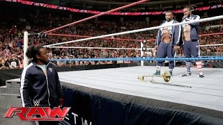Xavier Woods urges Kofi Kingston and Big E to come to their senses: Raw, July 4, 2016
