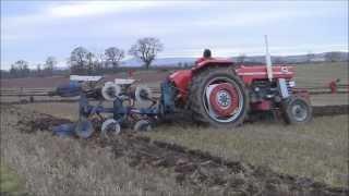 Massey Ferguson 185 @ Glenbervie & Howe O' the Mearns Ploughing Association 2013