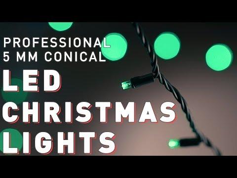 LED Christmas Lights | Pro Christmas™ | LED Conical 5mm