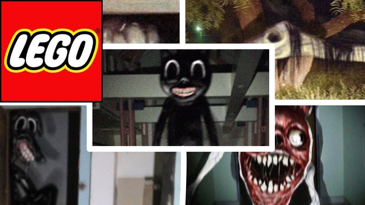 Lego Bridge Worm Vs Cartoon Cat Vs Long Horse Vs Smile Room Vs