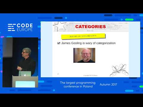 Secret of the Above Programmers - lecture by Edward Burns - Code Europe Autumn 2017