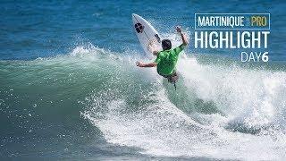 Martinique Surf Pro : Couzinet, Braye et Guilbaud en ébullition dans le Chaudron