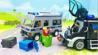 Мультики с игрушками для детей Крутой первый день в полиции Лучшие развивающие мультфильмы про машин