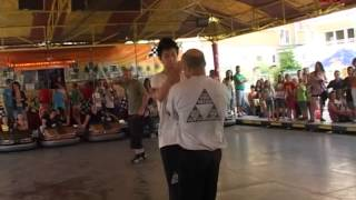 Sifu Sandro Suppressa Escrima Wing Tsun Demonstration Stadtfest Böblingen