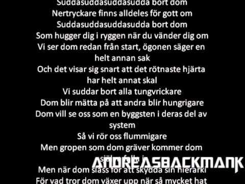 Kapten Röd - Ju mer dom spottar Lyrics
