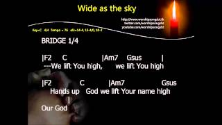 Gambar cover Wide as the sky Karaoke, Backing Track, Cover