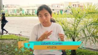 Lizbeth Carrión nos cuenta como el entrenamiento en atletismo es parte de su rutina diaria