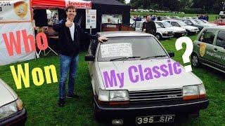 Nenagh Classic Car Club Show 2016 - Stavros969 4K + Who won my Toyota Carina