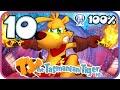 Ty the Tasmanian Tiger HD 100% Walkthrough Part 10 (PS4) Level 8: Beyond the Black Stump