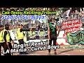 Dirijen Bonek Cak Tessy Keliling Tribun Stadion Surajaya Lamongan, Persela Vs Persebaya