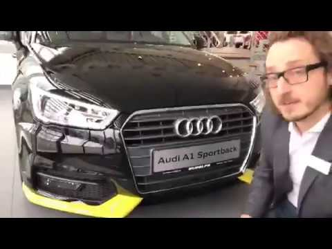 audi a1 sportback style paket macaogelb & audi all in one - youtube