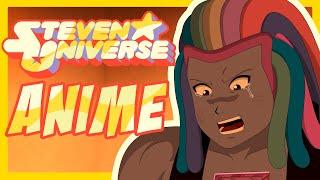 ¡SI STEVEN UNIVERSE FUERA UN ANIME! - Español Latino