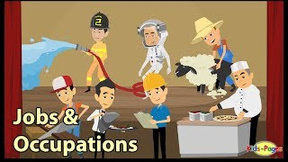 Jobs and Occupations / Learn English vocabulary about professions