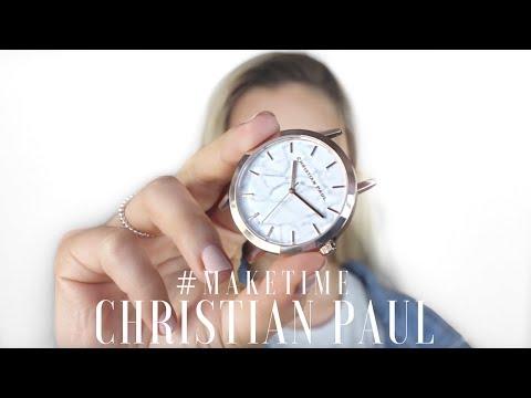 Christian Paul Watches #maketime   Natalie Brown