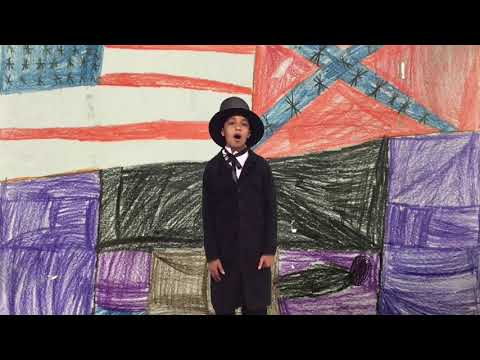 Ford's Theatre | Lincoln Online Oratory Project 2019 | Arbor Station Elementary School, GA