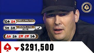 How Phil Hellmuth lost $290K ♠️ Best of The Big Game ♠️ PokerStars
