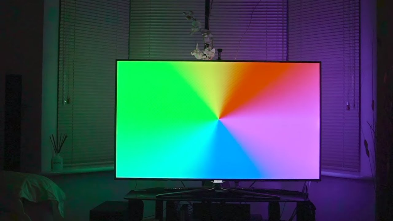 Forget Philips Ambilight: iHoment Retrofit TV Backlight Does