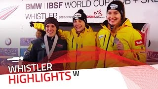 Hermann booked the first place across the ocean | IBSF Official