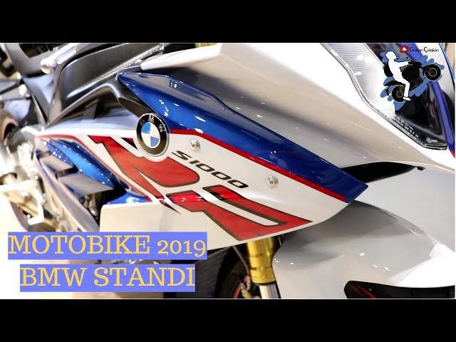 BMW STANDI MOTOBIKE 2019