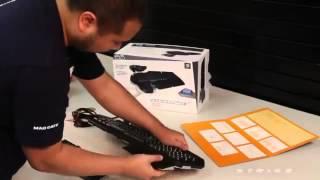 видео Mad Catz S.T.R.I.K.E.3: новая игровая клавиатура