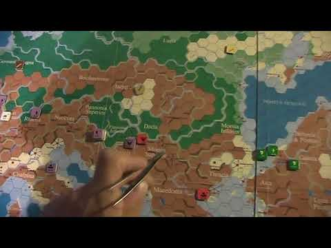 A lonesome Gamer plays Imperium Romanun Constantius II vs  Magnentius pt 3