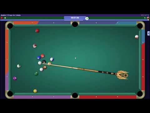 CL Andre Y Fran 5 vs 0 Keane (Guide Player - Humillado) / Gamezer V7 Flecha Arrow The Best 8 Ball