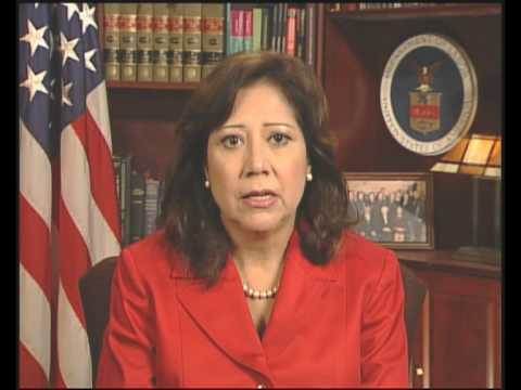 Video Message Hilda Solis, Secretary of Labor, United States
